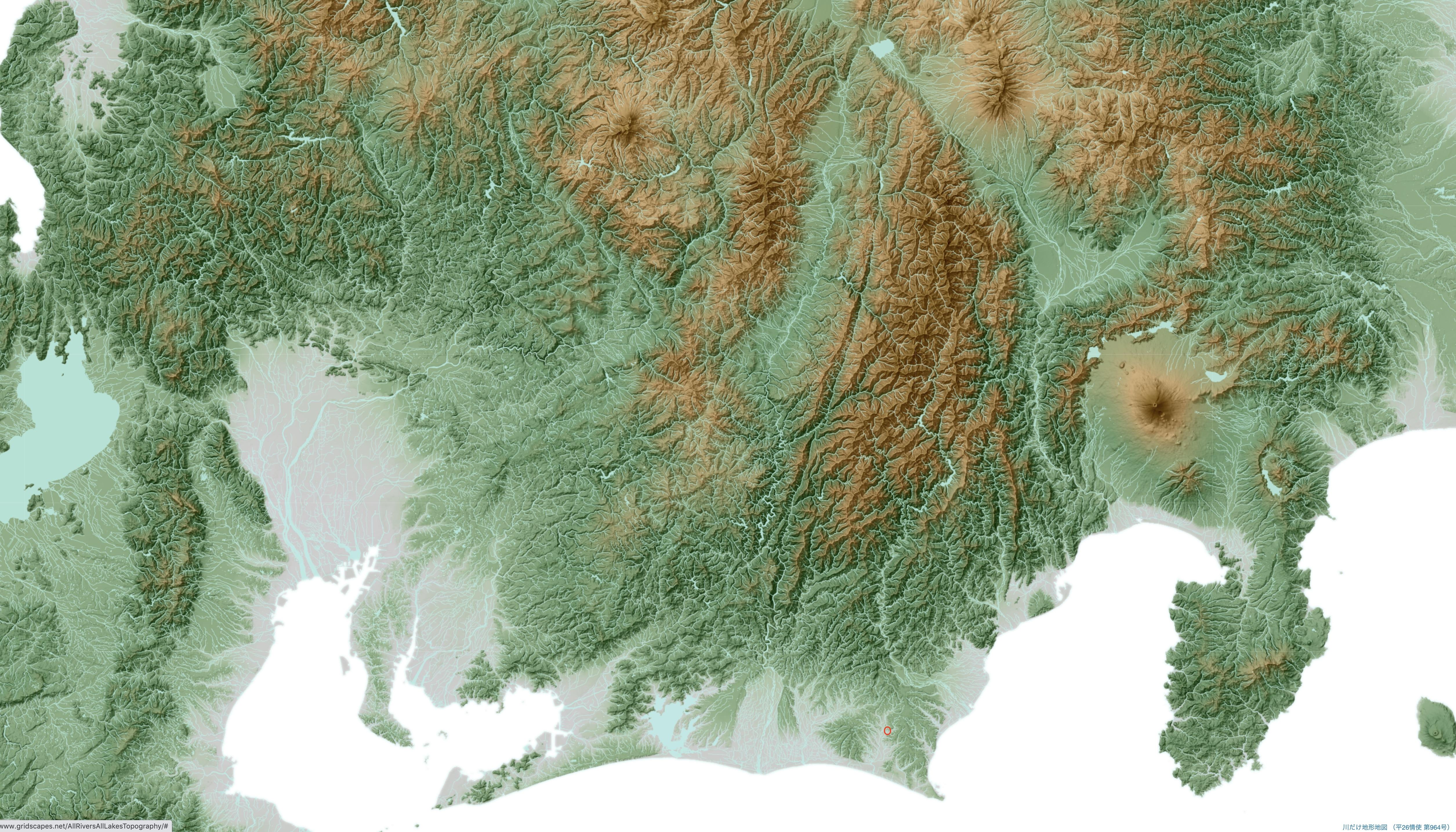 地方図のコピー